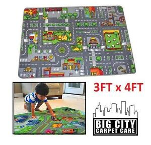 NEW BIG CITY MAPPED CARPET 3x4FT - 114322203 - Toys Vehicles Remote Control Race Tracks Playsets