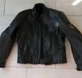 Frank Thomas leather motorcycle Jacket size 42
