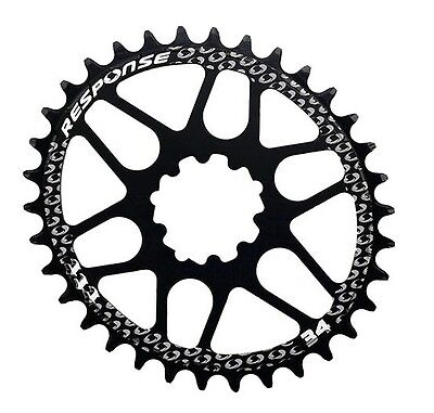 New Response Oval Chainring 34T for BB30