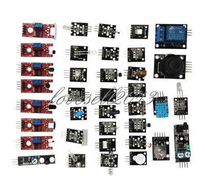 Ultimate Sensor Module Kit Set 37 In 1 For Raspberry Pi Arduino Mcu