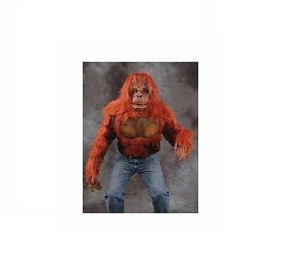 Zagone Orangutan Shirt Top BRAND NEW~TOP ONLY~APE MONKEY HALLOWEEN COSTUME](Ape Costume)