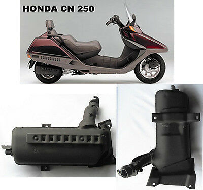 Marmitta Silenziatore ( MUFFLER ) per Honda CN 250 Spazio ( HELIX CN 250 )