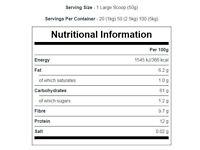 Gluten Free Rolled Oats for Healthy Breakfast Porridge - Brand new, unopened 5kg bag (RRP £14.99!)