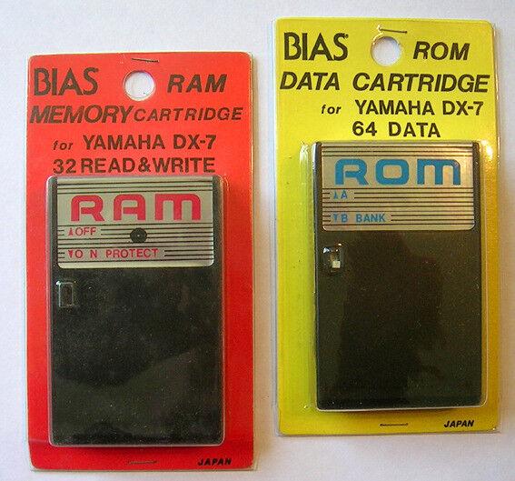 Yamaha DX7 Mark 1 ROMS and RAMS