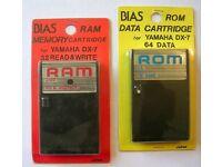 Yamaha DX7 ROMS and RAMS
