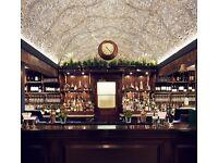 Head Bartender / Bar Supervisor needed for a Pub / Bar in Central London
