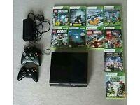 Xbox 360 E console & games