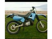 Yamaha dtr motorbike project everything there