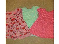 3 girls dresse bundle 18-24 months