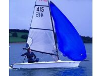 Sailing Dinghy RS Vareo 415 £2,350 including combi road base & launch trolley