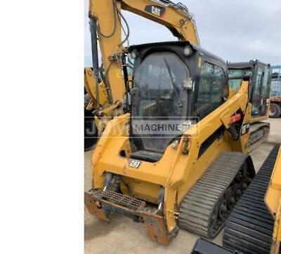 2016 Caterpillar 257d Cab Heat Air Track Skid Steer Loader Cat 257