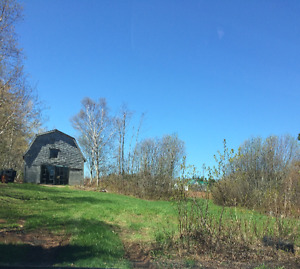 Building lot with barn. Rt6 Millcove