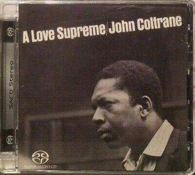 John Coltrane - A Love Supreme  SACD (Single Layer Stereo, Remastered)