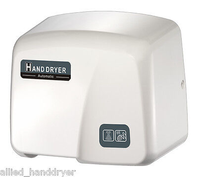 Fastdry Automatic Hand Dryer Mod.hk1800pa 208v240v White Abs Cover