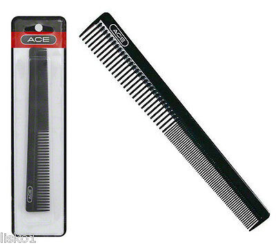 ACE Barber Comb Black Gd61886 for Styling Short Hair. Sold P