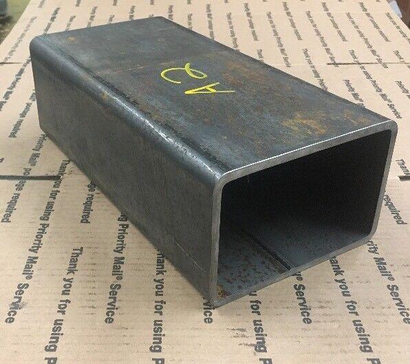 "4 X 6 Steel Square Rectangular Tubing 1/4"" Wall Bracing Support 12"" Long Welding"