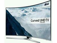 """Samsung curved 49"""" smart UHD led TV. ULTRA HD 2016 model Ue49ku6670 model"""