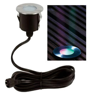 Colour changing led deck light kit