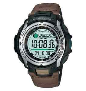 Casio-Fishing-Timer-Watch-Vibration-Alarm-5-Alarms-100-Meter-WR-PAS400B-5V