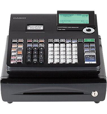 Casio PCR-T500 - Electronic Cash Register - 3000 PLUs - 50 Clerks