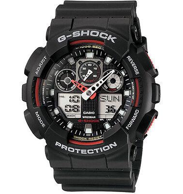 Casio GA100-1A4 Men's G-Shock Anti-Magnetic X-Large G Anti-Magnetic Dive Watch