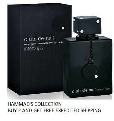Club De Nuit Intense Man By Armaf 3.6 oz /105 ml Edt Spray For Men (NIB) SEALED