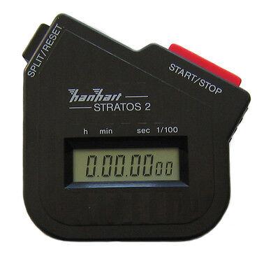 Rallye Digital Stoppuhr Hanhart Stratos 1/100 Sekunde Timer / Halda