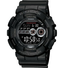 Casio G-Shock Digital Mens Black X-Large Watch GD-100-1BDR