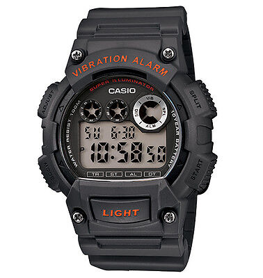 Casio W735H-8AV, Digital Watch, Countdown Timer, Stopwatch, Vibration Alarm