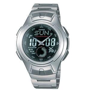 CASIO AQ160WD-1BV Men Sport Analog Digital Watch AQ-160WD-1BV New