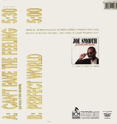 JOE SMOOTH - Can'T Fake The Feeling - D.J International
