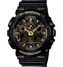 Casio G-Shock Analogue/Digital Camouflage Black/Gold Men