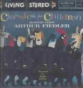 Classics for Children by Arthur Fiedler (Conductor) (CD, Oct-1995, RCA)