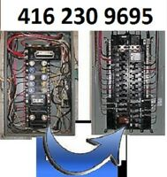 ELECTRICIAN - 416 230 9695 - FREE ESTIMATES