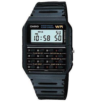 Casio Ca53w 1 Mens Classic 8 Digit Chronograph Alarm Calculator Watch