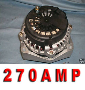HUMMER H1 ALTERNATOR 270 HIGH AMP 6.0L 03- 05/ CHEVY AVALANCHE 5.3 8.1L 02 03 04