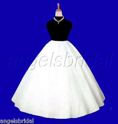 Talla Grande Súper Completo Línea-a Boda Vestido de Novia Enaguas Miriñaque