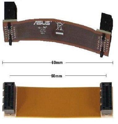 nVidia SLI Bridge Brücke flexibel flex 60mm NEU OVP 6cm new Adapter cable Kabel