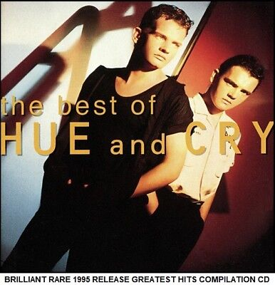 Hue & Cry - Very Best Greatest Hits Compilation - RARE 1995 CD 80's 90's