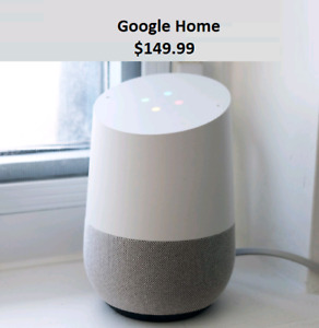 Google home (Brand New) 149.99$ Peterborough