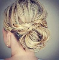 Professional hair and makeup artist for your wedding day