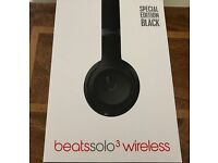 BRAND NEW Special Edition Genuine Beats Solo 3 Wireless Headphones