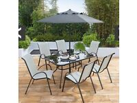 Province 8 piece dining set BNIB