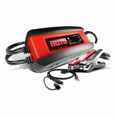 Schumacher SP1297 3A 6V 12V DOE Automatic Battery Maintainer - Red