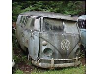 WANTED VW SPLIT SCREEN PROJECT