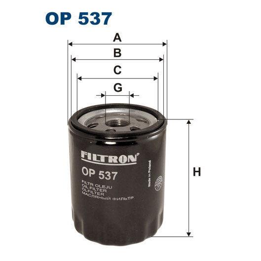 Ölfilter FILTRON OP537