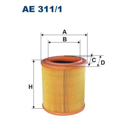 Luftfilter FILTRON AE311/1