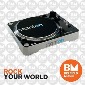 Stanton T62 Turntable Analog Direct Drive Straight Arm T-62 DJ Record Player
