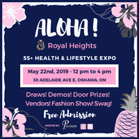 VENDORS WANTED:  55+ Wellness and Lifestyle event - OSHAWA