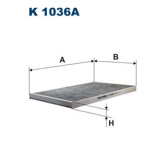 Innenraumfilter FILTRON K1036A